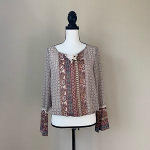 American Rag Boho style shirt size small 🌤